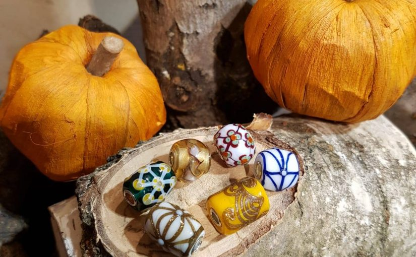 Trollbeads event met edelstenen en Barrel Beads